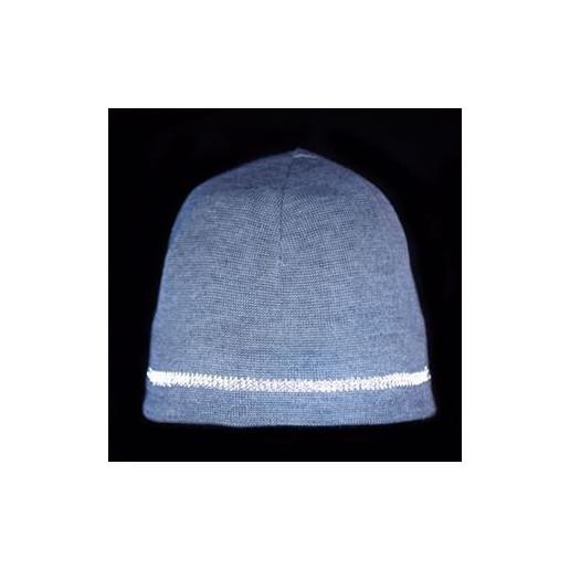 Twinkle Kid - reflektierende Basic-Mütze, grey, grau melange