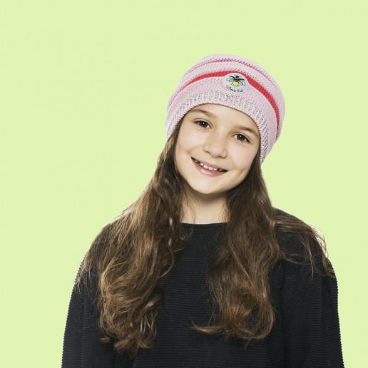 Rainbow Beanie Rosa