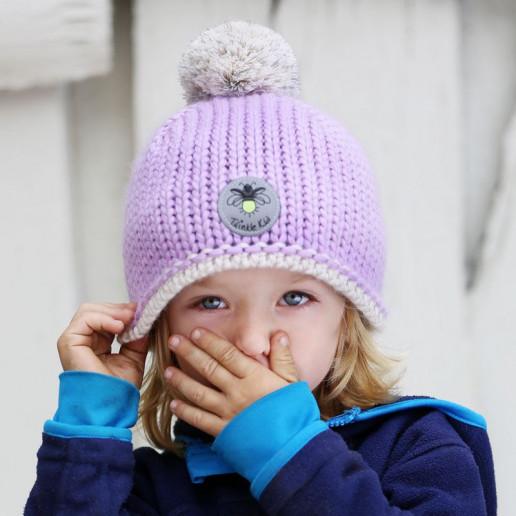 Wintermütze Lavendula
