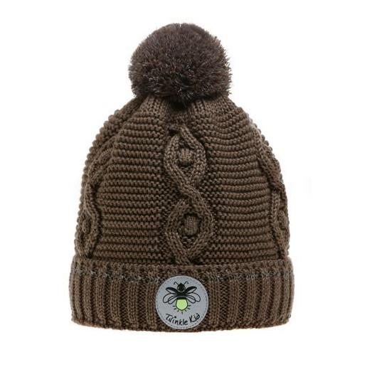 Wintervariante mit Zopfmuster