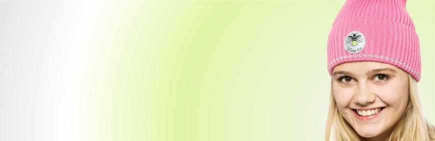 Beanies und Baskenmützen mit 360 Grad Reflexion - Sicher unterwegs sein